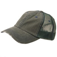 Ball Cap - Low Cotton Mesh Cap