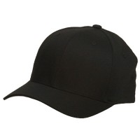 Ball Cap - Wooly Combed Twill Flexfit Cap | Free Shipping | e4Hats.com