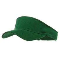 Visor - Brushed Cotton Sports Visor | Free Shipping | e4Hats.com