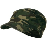 Cadet - Pink Camo Cotton Army Cap | Free Shipping | e4Hats.com