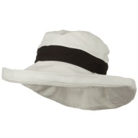 Outdoor - UPF 50+ Trimmed Draw String Hat