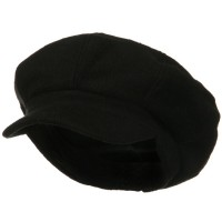 Newsboy - Big Size Wool Newsboy Cap