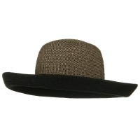 Outdoor - UPF 50+ Tweed Braid Kettle Brim Hat