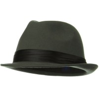 Fedora - Ladies Wool Felt Fedora Hat