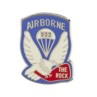 Pin , Badge - US Army Airborne Cloisonne Pins