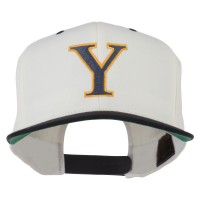 Embroidered Cap - Alphabet Upsilon Embroidered Classic Two Tone Cap