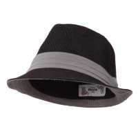 Fedora - Toyo Fedora Hat with Black Band | Free Shipping | e4Hats.com