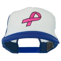 Embroidered Cap - Breast Cancer Mesh Back Cap