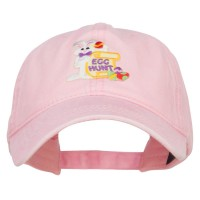 Embroidered Cap - Easter Bunny Egg Patch Cap | Free Shipping | e4Hats.com