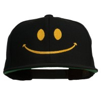 Embroidered Cap - Big Smiley Face Embroidered Cap
