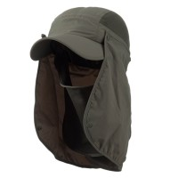 Flap Cap - UV 50+ Talson Flap Breathable Cap | Free Shipping | e4Hats.com