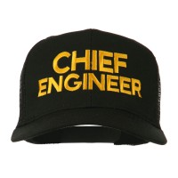 Embroidered Cap - Chief Engineer Mesh Cap