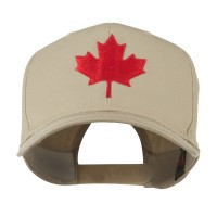 Embroidered Cap - Canada's Maple Leaf Cap