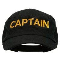 Embroidered Cap - Captain Embroidered Enzyme Cap