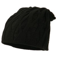 Beanie - Distressed Reversible Beanie | Free Shipping | e4Hats.com