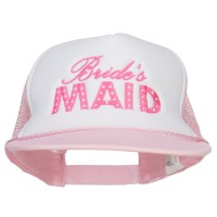 Embroidered Cap - Bridesmaid Embroidered Trucker Cap