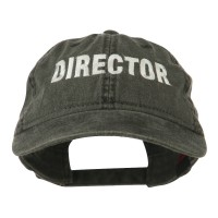 Embroidered Cap - Director Embroidered Cotton Cap