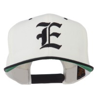 Embroidered Cap - Old English E Flat Bill Cap | Free Shipping | e4Hats.com