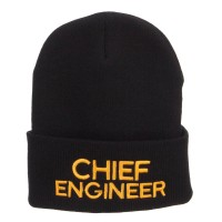 Beanie - Chief Engineer Embroidered Beanie