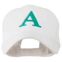 Embroidered Cap - Alphabet Alpha Embroidery Cap