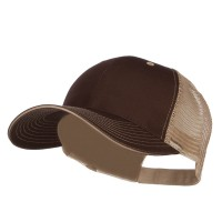 Ball Cap - Big Size Washed Cotton Mesh Cap