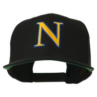 Embroidered Cap - Alphabet NU Embroidered Cap
