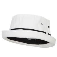 Bucket - Big Size Striped Fisherman Bucket Hat | Free Shipping | e4Hats.com