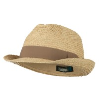 Fedora - Big Size Braided Straw Fedora