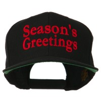 Embroidered Cap - Greetings Embroidered Snapback