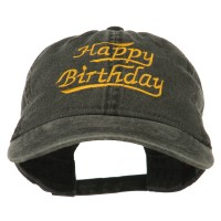 Embroidered Cap - Happy Birthday Embroidered Cap