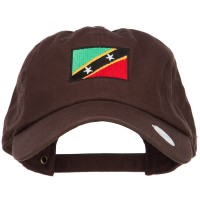 Embroidered Cap - Saint Kitts Flag Embroidered Cap