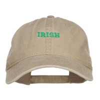 Embroidered Cap - Mini Irish Embroidered Cap