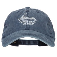 Embroidered Cap - River Rats Vietnam Embroidery Cap