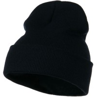 Beanie - 12 Inch Long Knitted Beanie | Free Shipping | e4Hats.com