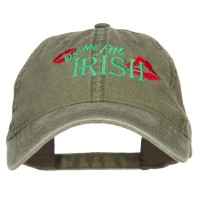 Embroidered Cap - Kiss Me I'm Irish Embroidered Cap