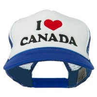 Embroidered Cap - I love Canada Embroidered Cap