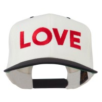 Embroidered Cap - Love Embroidered Snapback