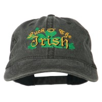 Embroidered Cap - Luck O' Embroidered Cap
