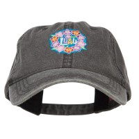 Embroidered Cap - LUAU Hawaiian Patched Cap