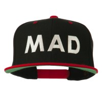 Embroidered Cap - Mad Embroidered Snapback | Free Shipping | e4Hats.com