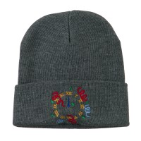Beanie - Midnight Embroidered Beanie