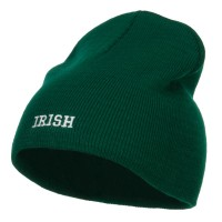 Beanie - Mini Irish Embroidered Beanie