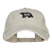 Embroidered Cap - Mama Bear Embroidered Cap
