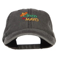 Embroidered Cap - Cinco de Mayo Sombrero Cap