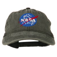 Embroidered Cap - NASA Insignia Embroidered Dyed Cap
