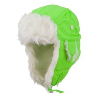 Trooper - Neon Faux Fur Trooper Hat