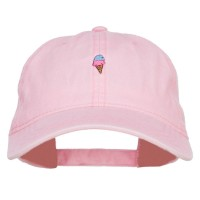Embroidered Cap - Mini Ice Cream Embroidered Cap