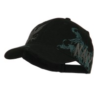 Embroidered Cap - Women's Constructed US Navy Cap