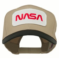 Embroidered Cap - NASA Patched Two Tone Cap | Free Shipping | e4Hats.com