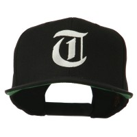 Embroidered Cap - Old English T Snapback Cap